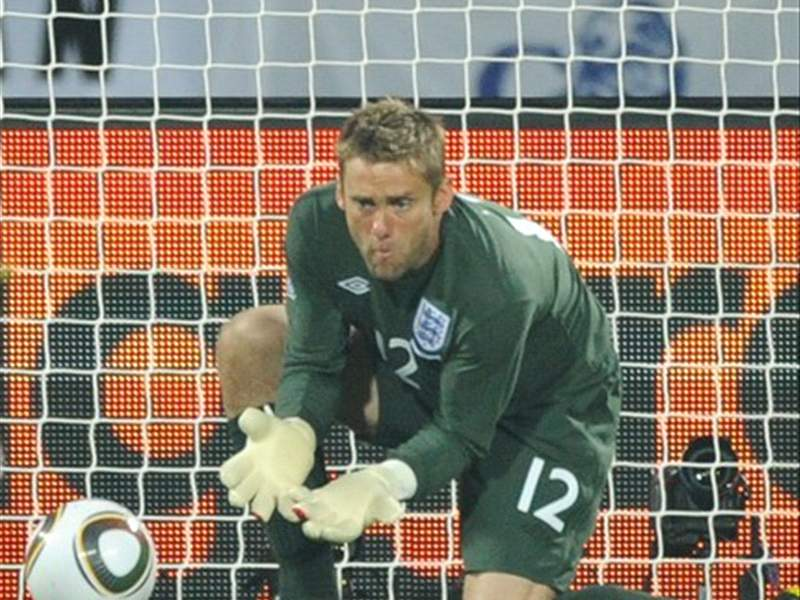 World Cup 2010: England goalkeeper Robert Green dropped for