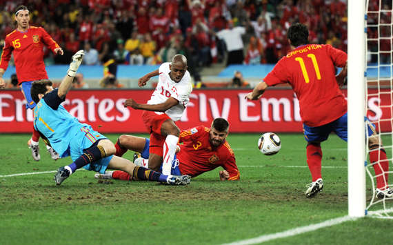 World Cup 2010 Road To Glory How Spain Became The World Champions Goal Com