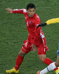 Kim Kum Il, South Korea International