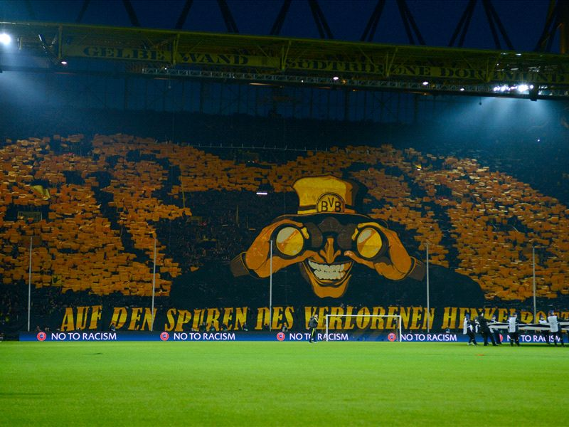 How The Yellow Wall Became One Of European Football S Most Spectacular Sights Goal Com