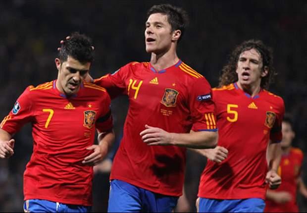 スペイン3戦全勝、イングランドはスコアレス