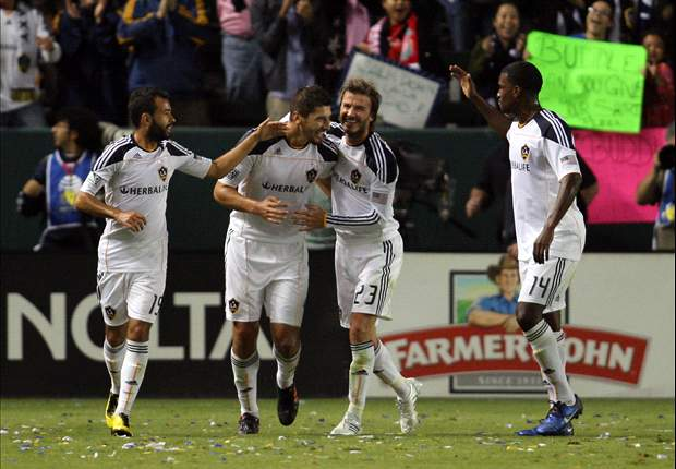 Los Angeles Galaxy 2-1 Seattle Sounders FC: The Galaxy Advance Handily
