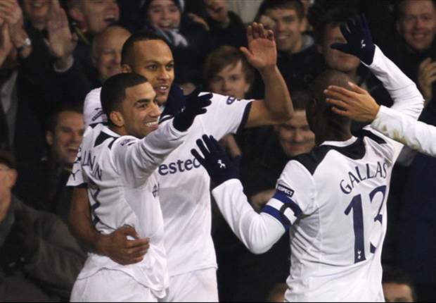 Tottenham 3-0 Werder Bremen: Goals from Kaboul, Modric and Crouch ease Spurs into last 16
