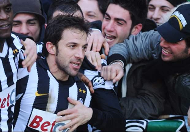 Juventus-Bari 2-1: I Galletti sfiorano lo scherzetto, Del Piero e Aquilani suonano la riscossa Juve!
