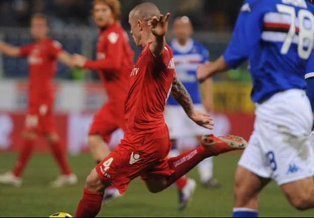 Sampdoria-Cagliari 0-1: Nainggolan s'inventa goleador, crisi Doria senza fine