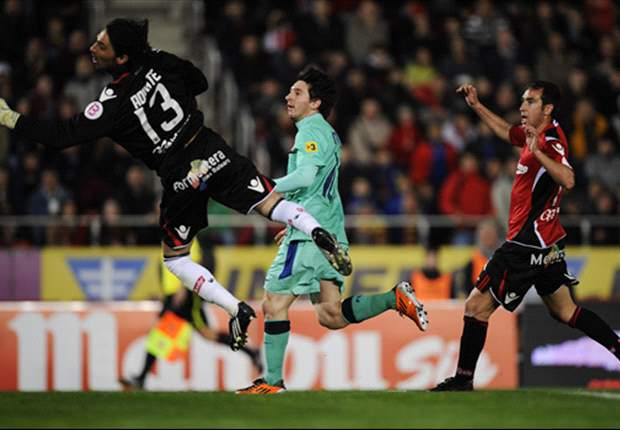 Mallorca 0-3 Barcelona: Messi header sets league leaders on way to comfortable win