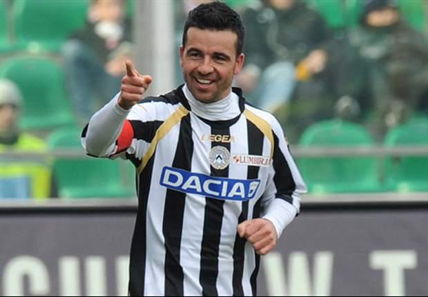 Palermo 0-7 Udinese: Alexis Sanchez hits four & Di Natale grabs a hat-trick as nine-man hosts torn apart