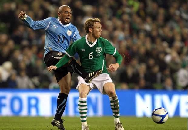 Amistoso: Uruguay venció a una Irlanda sin sus figuras (2-3)