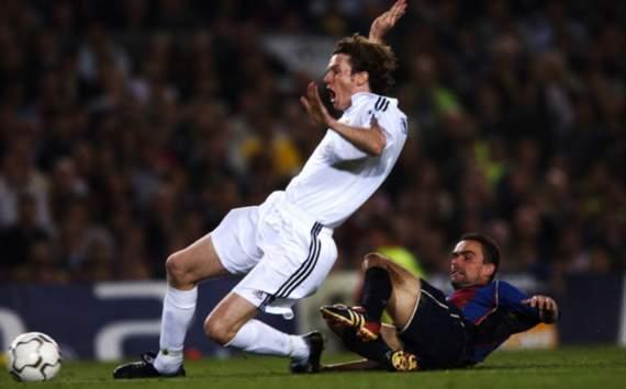 El Clasico Flashback 2002 Champions League Semifinal Goal Com