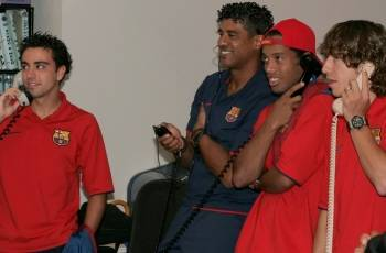 Rijkaard With The Golden Boys