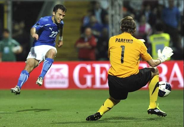 イタリア快勝、EURO予選突破に近づく