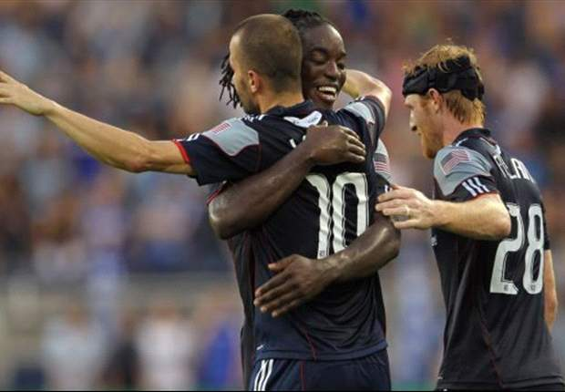 Sporting Kansas City 1-1 New England Revolution: Teal Bunbury scores late to earn draw for Sporting