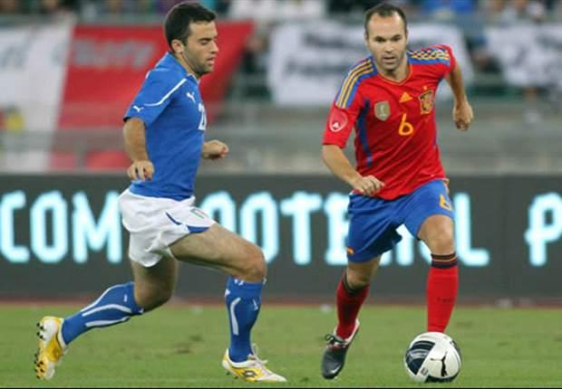 イタリア、スペインをホームで沈める