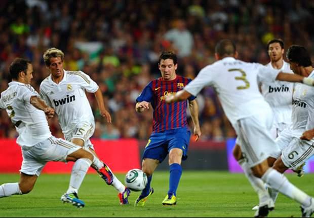 Barcelona 3-2 Real Madrid (Agg. 5-4): Lionel Messi brace wins Supercopa amid violent scenes at Camp Nou