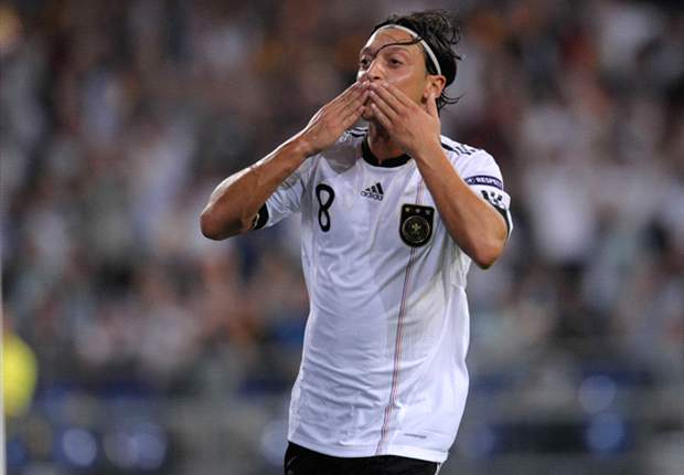 Germany 6-2 Austria: Ozil stars as hosts seal Euro 2012 qualification
