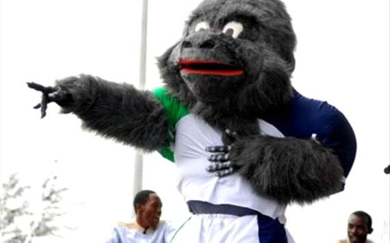 Costumed character mascot of the 2012 Afcon