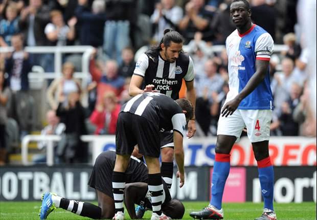 Newcastle 3-1 Blackburn: Demba Ba hits impressive hat-trick to keep hosts in top four