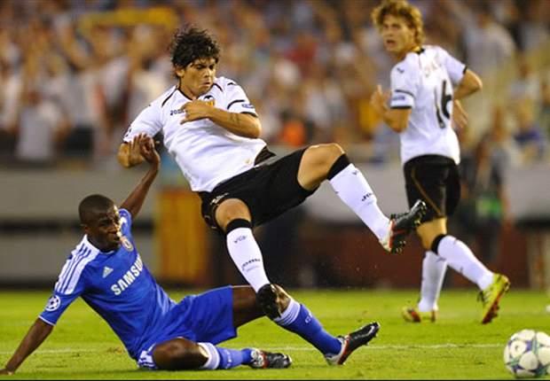 Valencia arranca empate com Chelsea no final