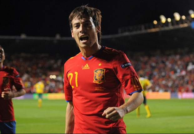 Spain 3-1 Scotland: David Silva inspires World Champions to 100 per cent record in Group I as visitors are denied play-off place