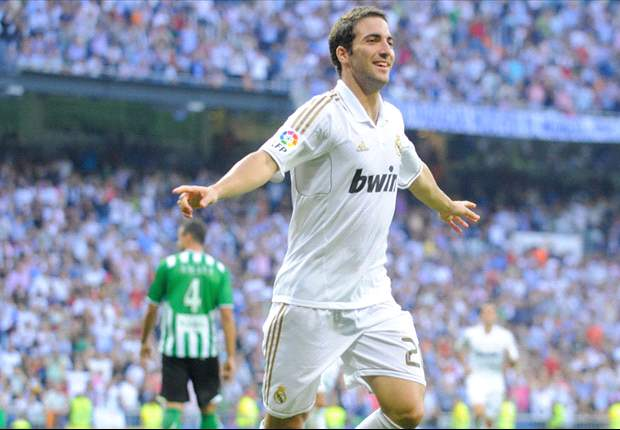 Real Madrid 4-1 Real Betis: Higuain hat-trick the highlight as Jose Mourinho's side record comfortable win