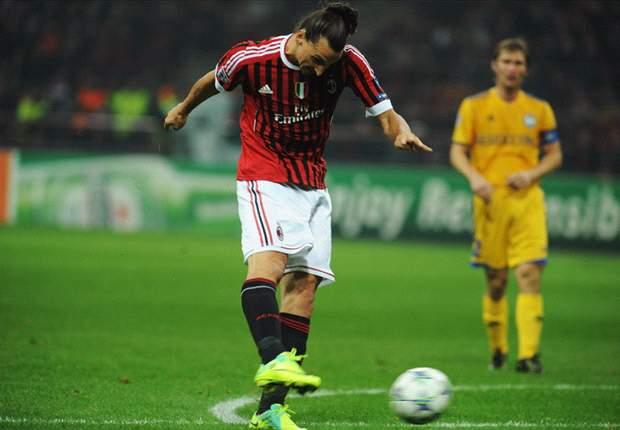 Milan-BATE Borisov 2-0: E' tornata la premiata ditta Ibra-Boateng, la qualificazione è vicina