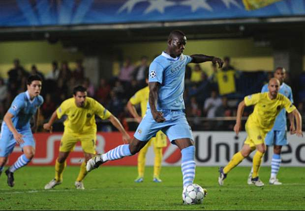 Villarreal 0-3 Manchester City: Yaya Toure & Mario Balotelli inspire comprehensive win to send Mancini's men second in Group A