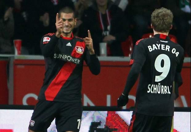 Bayer Leverkusen 2-0 Hoffenheim: Derdiyok's red-hot form continues as Stanislawski's men stumble again