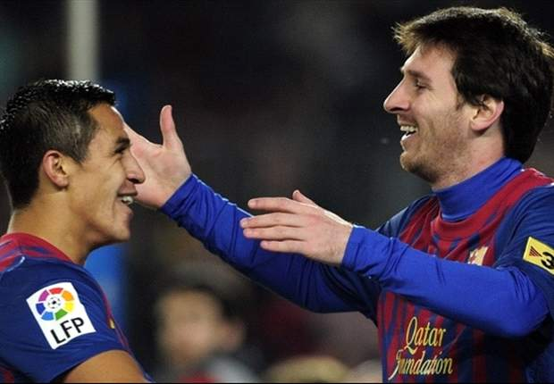 Malaga 1-4 Barcelona: Messi scores exquisite hat-trick and Alexis adds another as champions close gap on league leaders Real Madrid