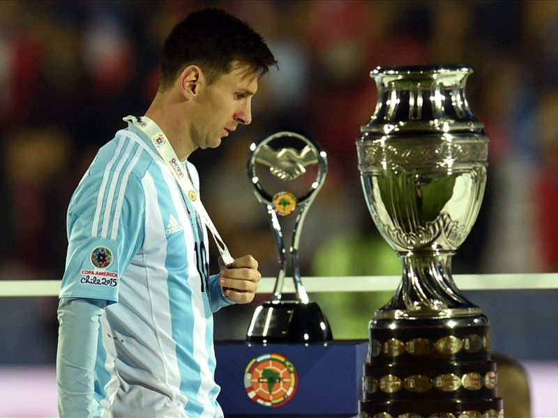 Messi: There's nothing more painful than losing a final