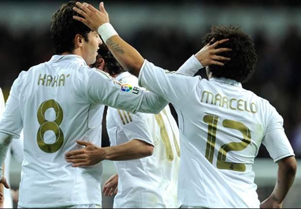 Real Madrid 3-1 Zaragoza: League leaders come from goal behind as Kaka, Ronaldo & Ozil strike to seal victory