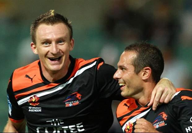 Perth Glory 0-3 Brisbane Roar: Berisha brace does the trick
