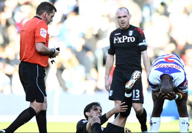 QPR 0-1 Fulham: Early Pavel Pogrebnyak strike enough as Cottagers down 10-man hosts in west London derby