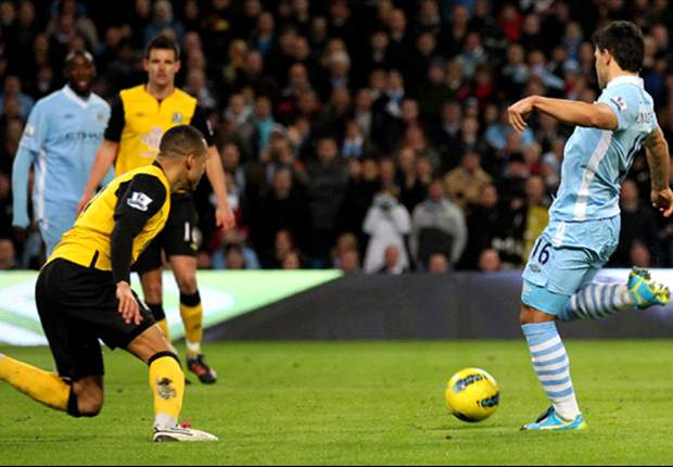 Manchester City 3-0 Blackburn: Balotelli, Aguero & Dzeko fire hosts five points clear at top of Premier League