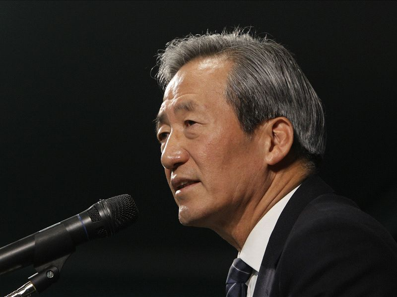 'Platini like cannibal Blatter' - Mong-joon to stand for Fifa presidency
