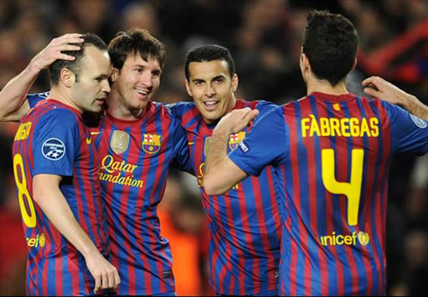 Barcelona 7-1 Bayer Leverkusen (Agg 10-2): Incomparable Messi scores five and Tello adds two more as German outfit are battered at Camp Nou