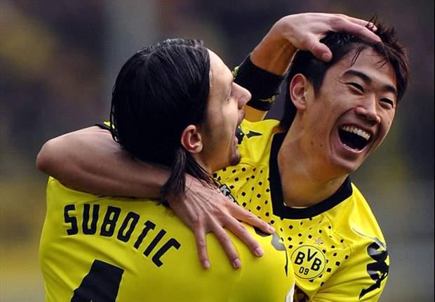 Borussia Dortmund 1-0 Werder Bremen: Kagawa strike puts hosts eight points clear as BVB break club record for undefeated streak