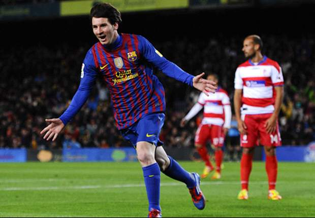 Barcelona 5-3 Granada: History-making Messi breaks club goalscoring record as gap at top of La Liga is reduced to five points