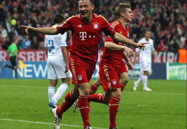 Bayern Munich 2-0 Olympique de Marseille (Agg 4-0): Olic proves able deputy to absent Gomez as his double ensures semi-final spot for Bavarians