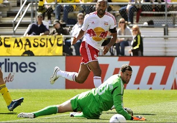 Columbus Crew 1-4 New York Red Bulls: Thierry Henry and Kenny Cooper continue blazing scoring start with two goals each