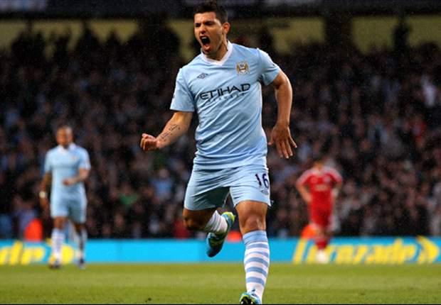 Manchester City 4-0 West Brom: Aguero & Tevez star to move rampant hosts back into Premier League title race