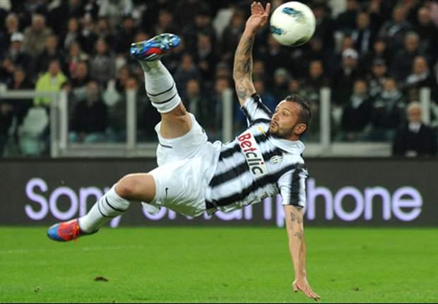 Alessandro Del Piero rettet Juventus die Tabellenführung gegen Lazio