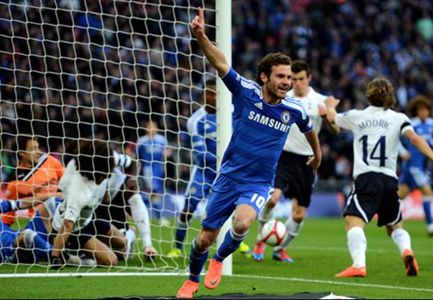 Tottenham 1-5 Chelsea: Mata 'ghost goal' helps steer rampant Blues into FA Cup final at expense of sorry Spurs