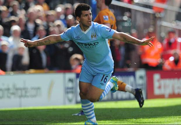 Wolves 0-2 Manchester City: Aguero & Nasri efforts relegate hosts as Mancini's men move within three points of United