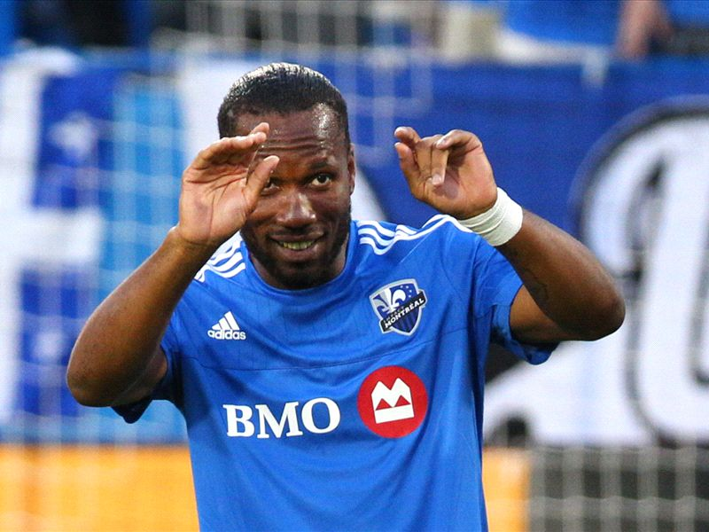 Didier Drogba: Former Chelsea striker scores hat-trick in first start for Montreal Impact