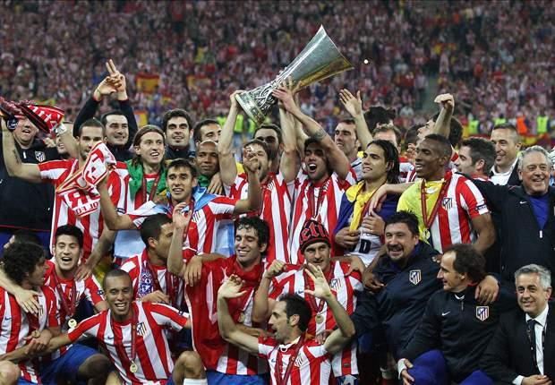 轟くファルカオの咆哮、アトレティコが2シーズンぶりのEL制覇