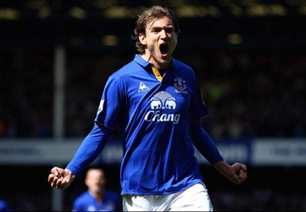 Everton 3-1 Newcastle: Jelavic and Pienaar score as Toffees kill off visitors' Champions League dream