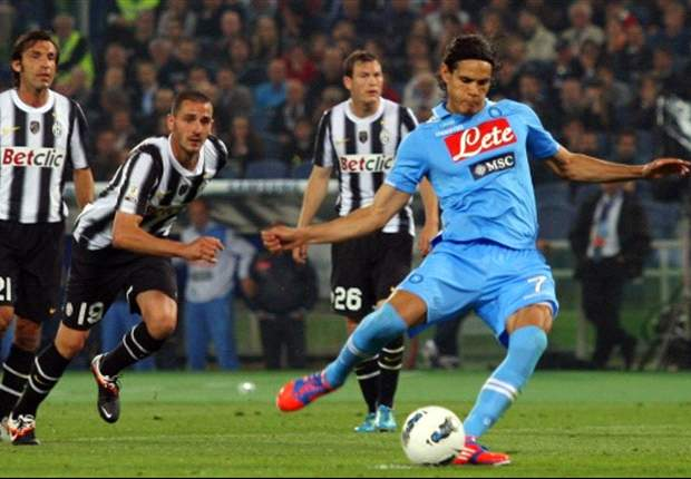 Juventus 0-2 Napoli: Cavani and Hamsik clinch Coppa Italia and dash double dreams of Turin giants