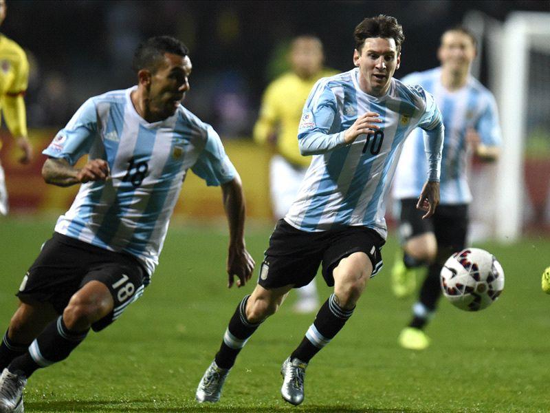 Tevez Messi