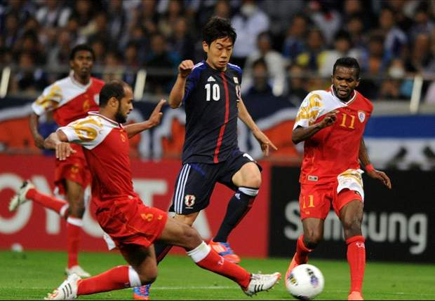 Japan 3-0 Oman: Honda, Maeda & Okazaki score as hosts dominate opener