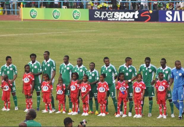 Nigeria 2-0 Rwanda (agg 2-0): Ike Uche and Ahmed Musa goals see the Super Eagles through